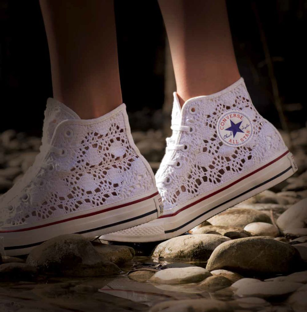 all star converse donna pois