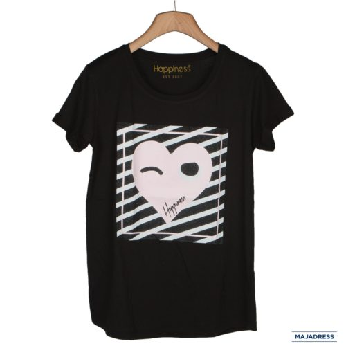 tshirt donna Happiness